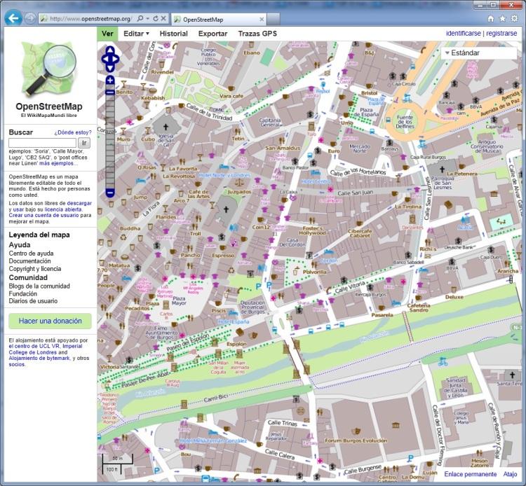 Mapa detallado