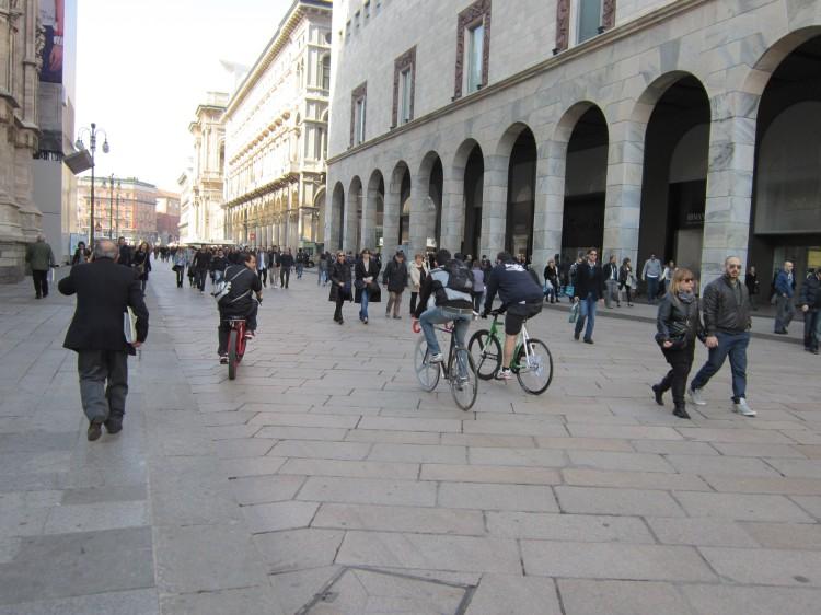 Fixies en Milan